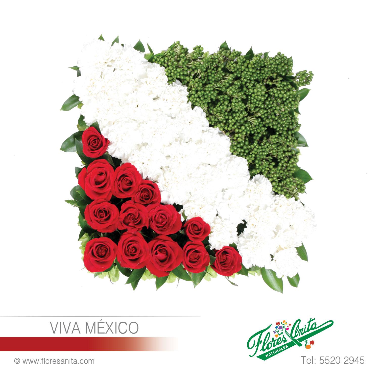 Viva Mexico Arreglo Floral Exóticos Florería Flores