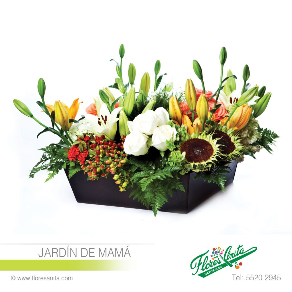 Jardín De Mamá Arreglo Floral Mixtos Florería Flores