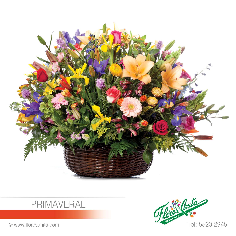 Primaveral Arreglo Floral Mixtos Florería Flores Anita