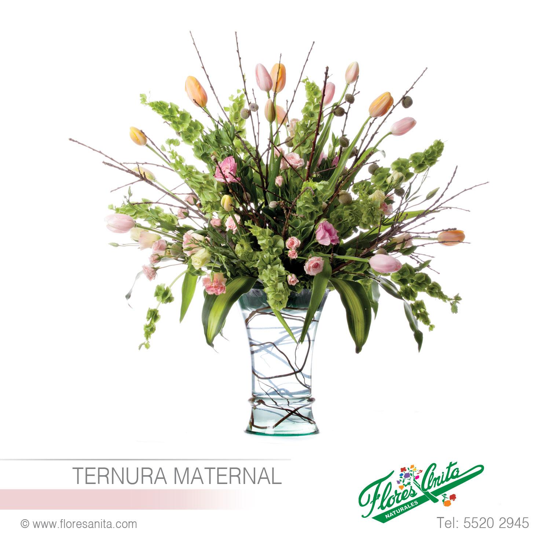 Ternura Maternal Arreglo Floral Tulipanes